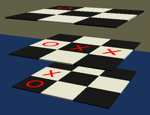 3D Noughts and Crosses image